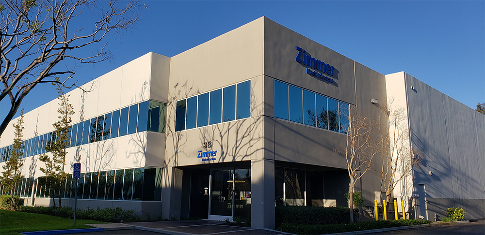 Zimmer MedizinSystems Headquarters in Irvine CA
